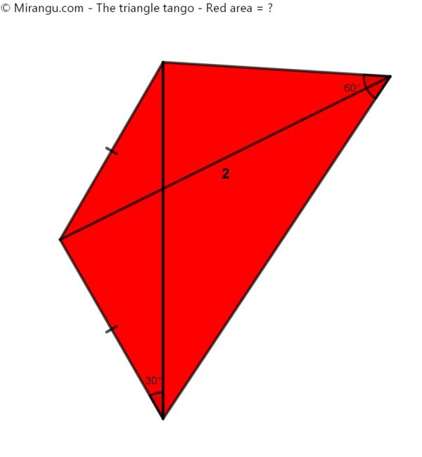 The triangle tango