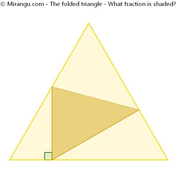 The folded triangle