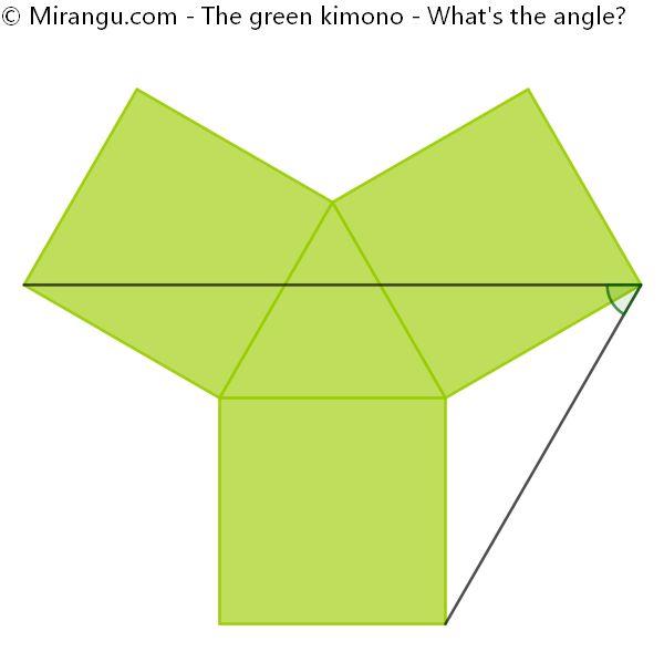 The green kimono