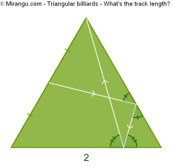 Triangular billiards