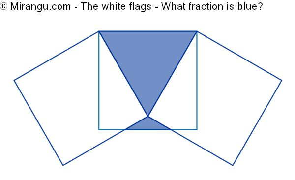 The white flags
