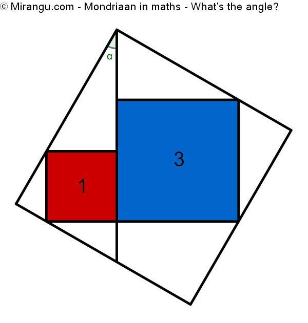 Mondriaan in maths