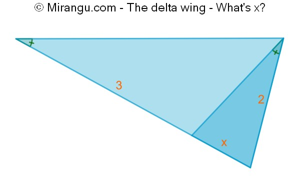 The delta wing