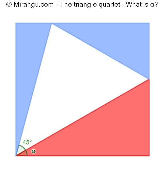 The triangle quartet