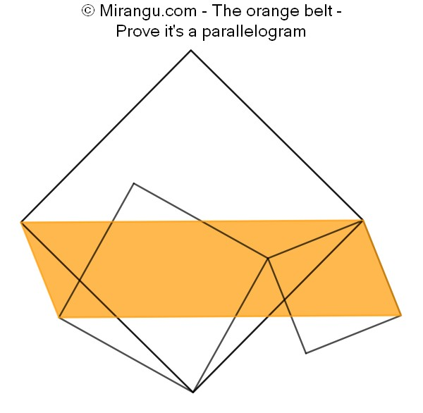 The orange belt