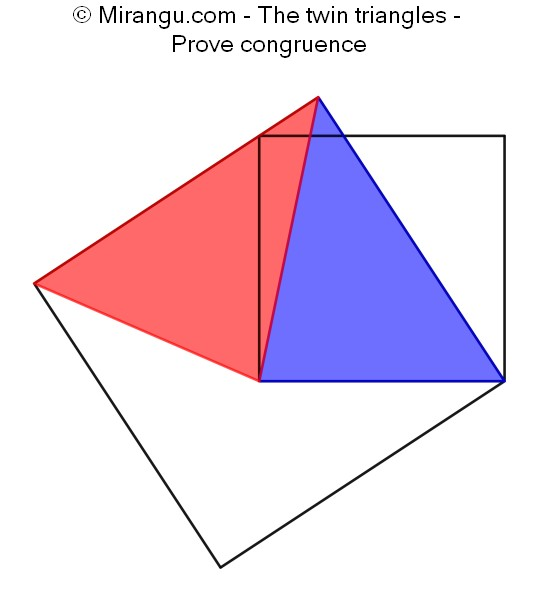 The twin triangles