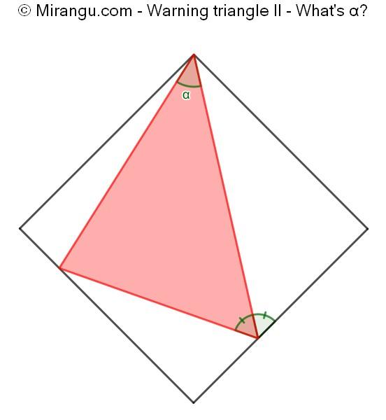 Warning triangle II